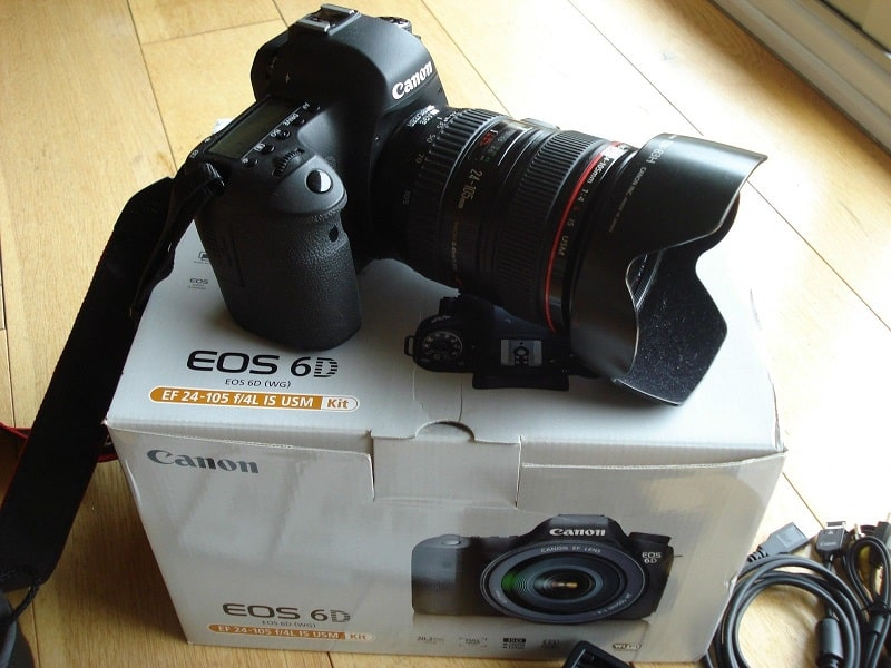 Jual Canon EOS 6D 202 MP Digital SLR Camera Original